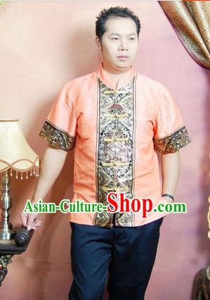 Southeast Asia Traditional Shirt for Men