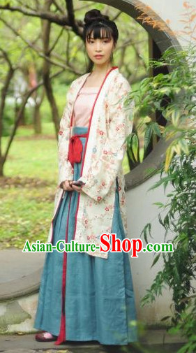 Song Dynasty Traditional Clothes for Women