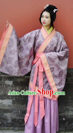 Han Dynasty Traditional Clothes for Girls