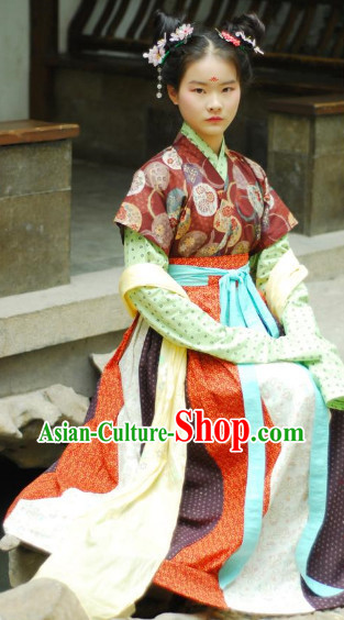 Han Dynasty Female Clothes