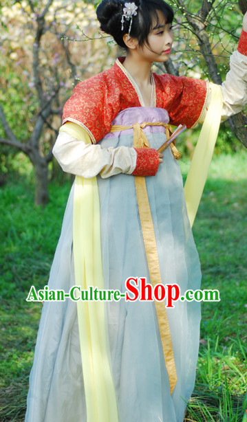 Han Dynasty Clothing for Girls