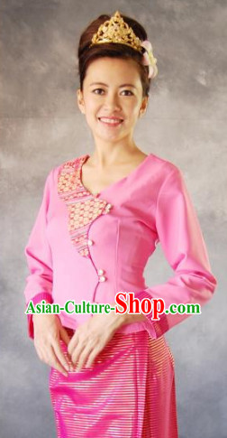 Laos Traditional Garment for Women