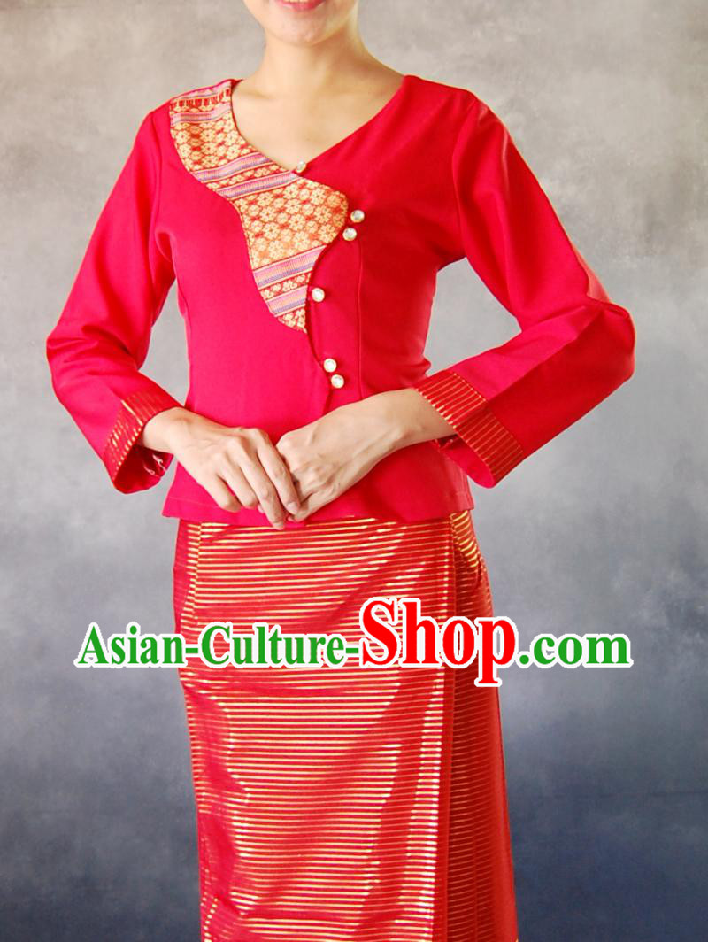 Laos Traditional Clothes for Women