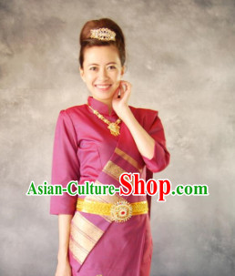 Traditional Thailand Outfit for Women 4
