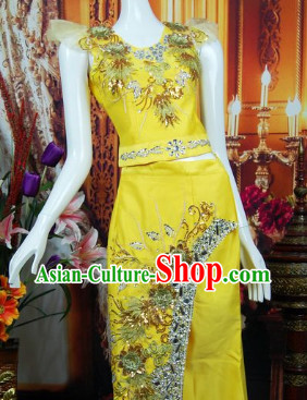 Southeast Asia Traditional Thailand Outfits for Women
