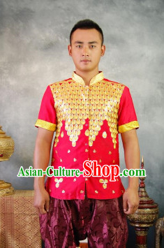 Southeast Asia Traditional Thailand Dress for Men