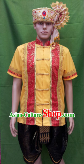 Southeast Asia Traditional Thailand Dancewear for Men