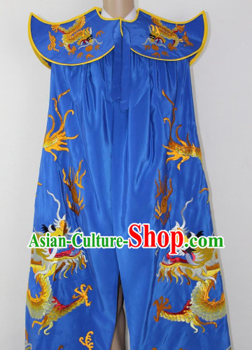 Classical Mask Changing Mantle Embroidered Dragon Cape