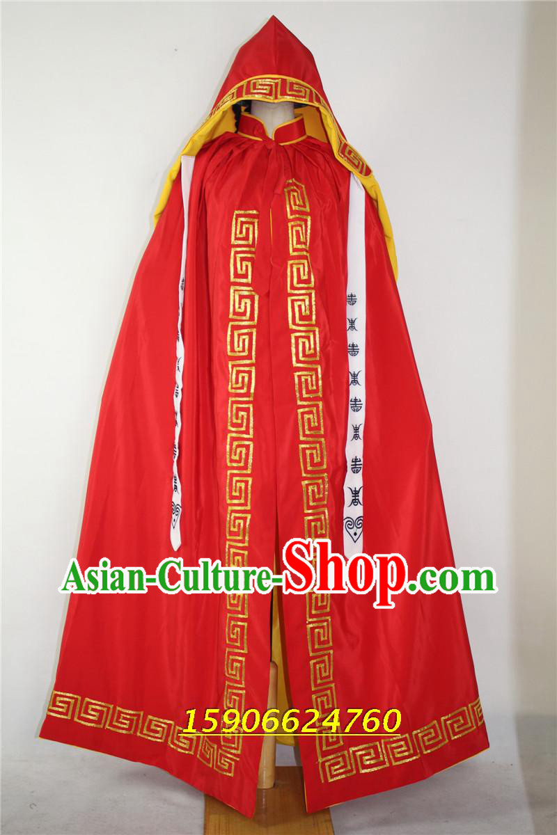 Ancient General Red Cape for Men