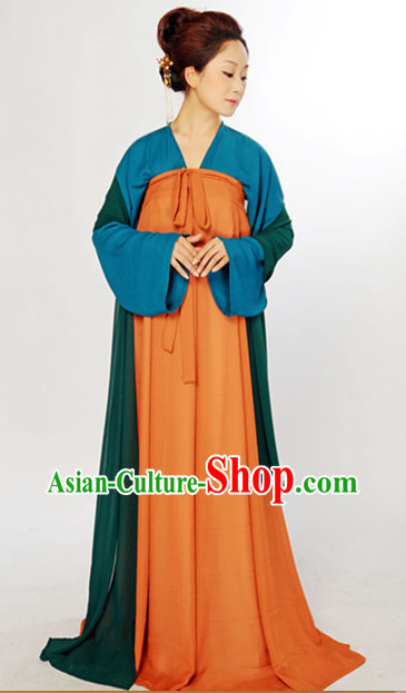 Refined and sophisticated Chinese Classical Hanfu Dresses for Women
