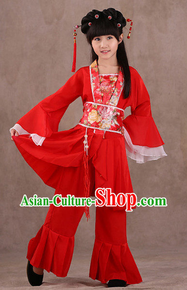 Chinese Classical Performance Costumes for Children