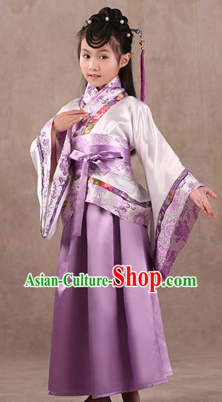Classical Premium Performance Wear Hanfu Dresses for Children