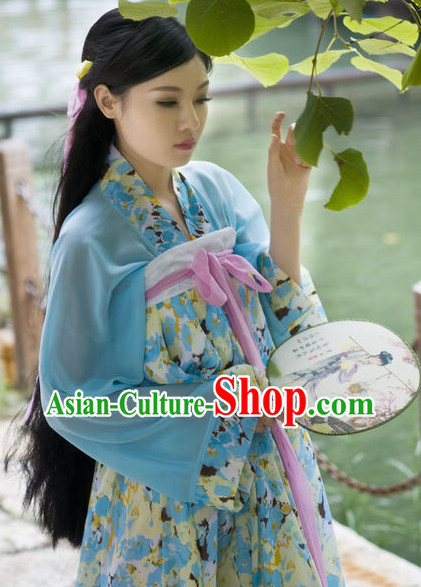Traditional Chinese Classical Dancing Suit for Girls