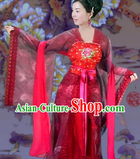 Tang Dynasty Big Sleeves Clothes for Women