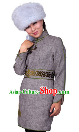 Traditional Chinese Mongolian Female Dresses for Women