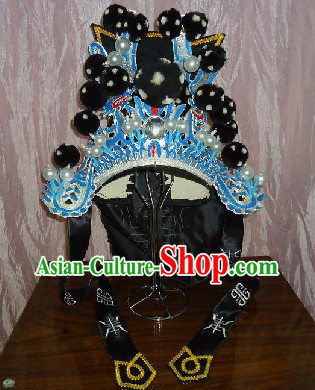 Traditional Chinese Wusheng General Hat