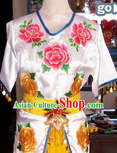 Traditional Chinese Stage Performance Qiao Hua Dan Costumes