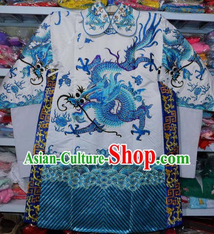 Peking Opera Embroidered Dragon Robe