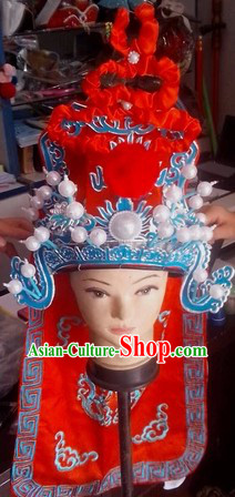 Asian Peking Opera Wusheng Hat