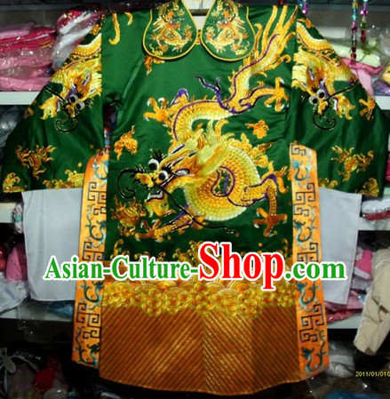 Chinese Peking Opera Dragon Robe for Men