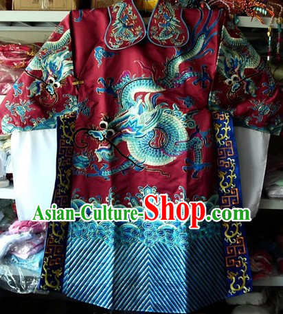 Chinese Peking Opera Dragon Dresses for Men
