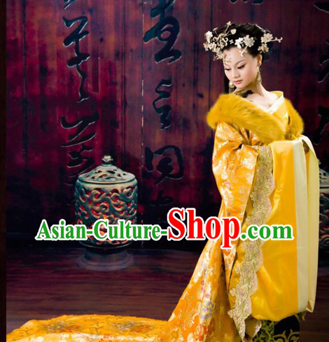 Traditional Chinese Royal Empress Costumes Complete Set