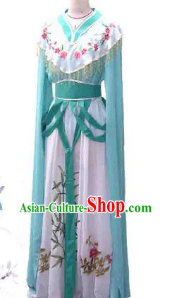 Lin Daiyu Beijing Opera Dream of Red Chamber Long Robe for Women