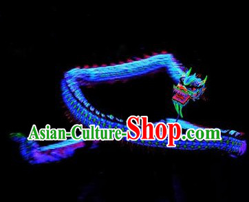 Professional Luminous Dragon Dance Costumes Full Set