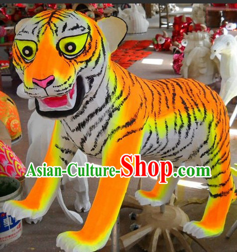 Tiger Year Display Arts of Twelve Sheng Xiao 12 Symbolic Animals Associated with A 12 Year Cycle