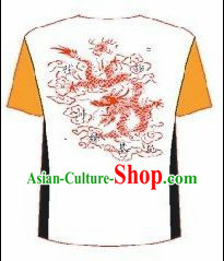 Professional Performance Dragon Dance Group Dance T-shirt
