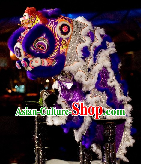 Traditional Asian Lion Dance Costume Complete Set