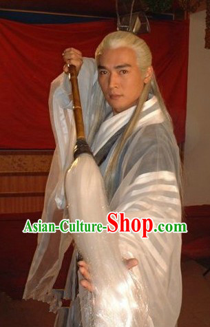 Ancient Chinese Taoist Costumes for Props for Men