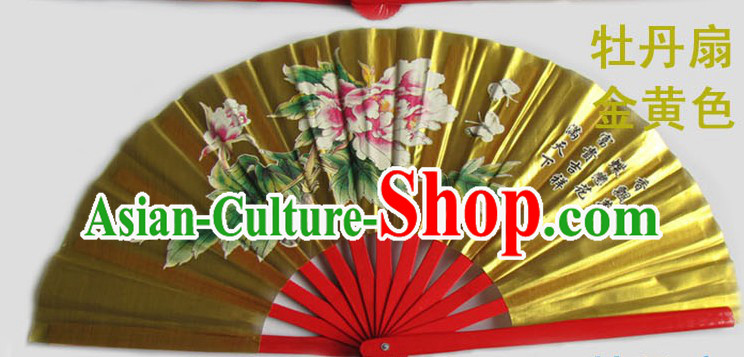 Traditional Martial Arts Double Fans for Both Hands