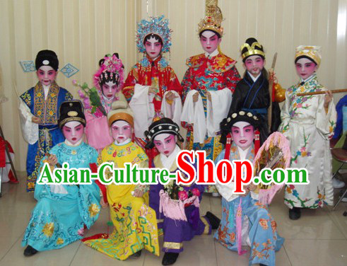 Chinese Peking Opera Costumes for Children