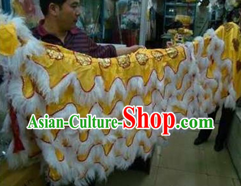 Lion Dance Costumes and Tail and Pants