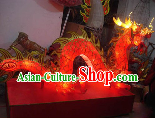 Handmade Dragon Dance Arts and Crafts for Display or Collection