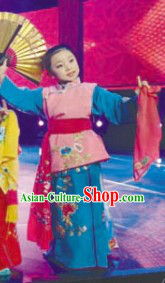 Traditional Chinese Opera Hua Dan Costumes for Kids