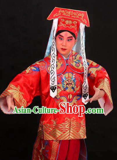 Traditional Chinese Dragon Embroidery Dance Costumes