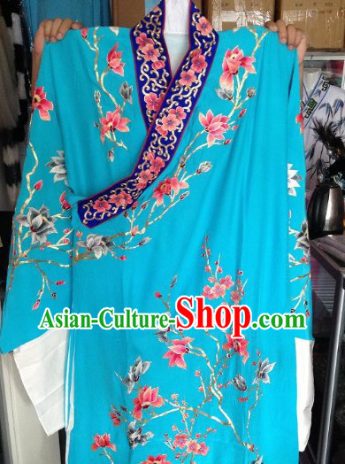 Traditional Chinese Silk Hands Embroidered Robe