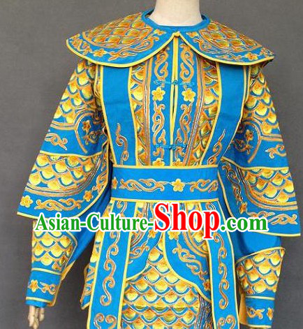 Chinese Festival Parade Armor Costume