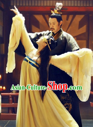 Wu Zetian Imperial Palace Dance Costumes