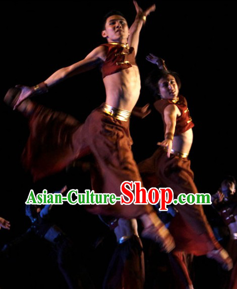 Folk Ethnic Dance Costumes Complete Set