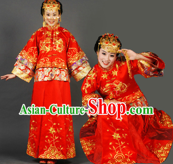 Traditional Chinese Wedding Dress for Women