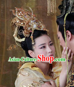 Ancient Chinese Imperial Empress Headdress Set