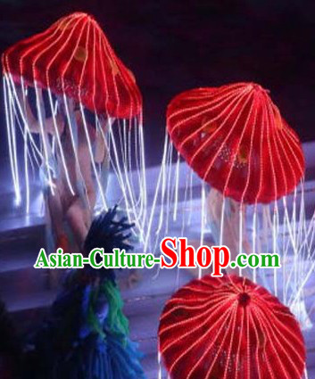 Big LED Mushroom Dance Props