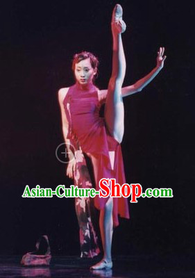 Traditional Chinese Classical Rouge Dancing Costumes