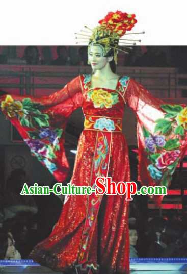 Tang Dynasty Imperial Royal Dance Costumes for Both Student and Professional Dancers