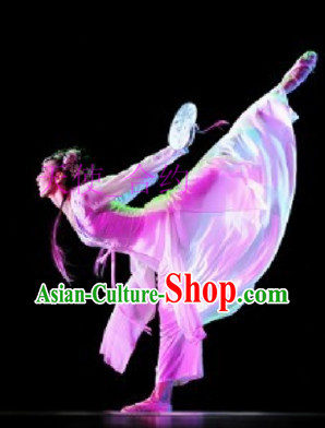Chinese Classical Dance Costumes and Headwear - Dance of the Butterfly