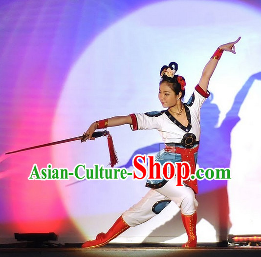 Chinese Rhythmic Gym, Martial Arts, Chinese opera and Acrobatics Costumes