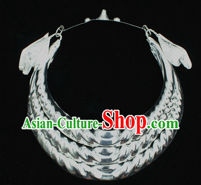 Traditional Miao Silver Necklace